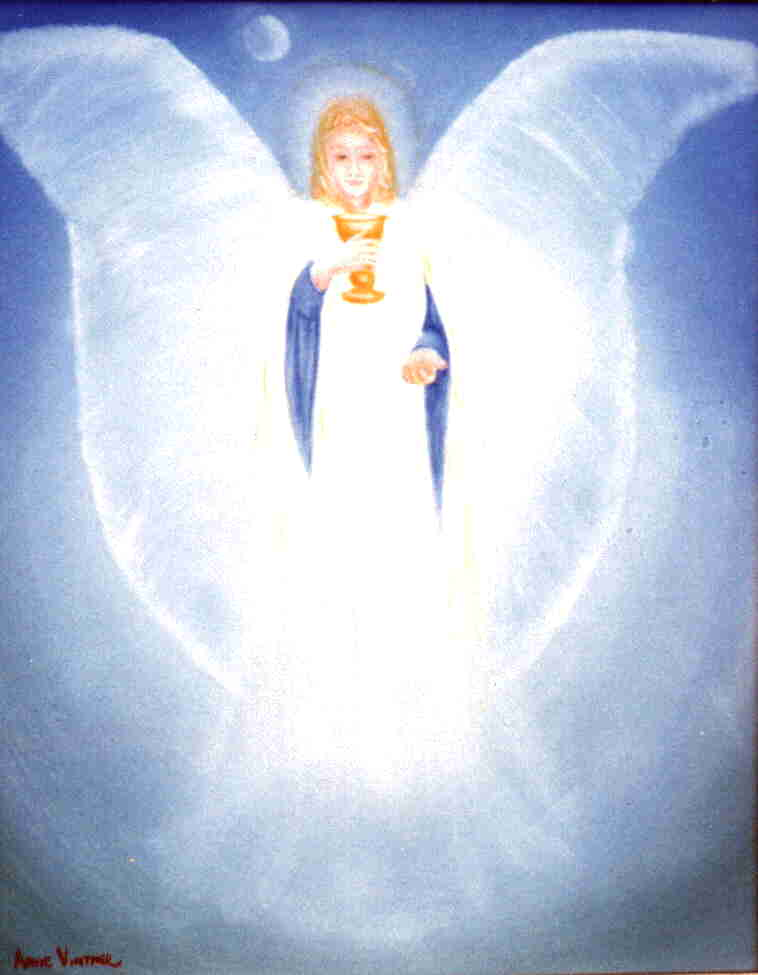 Archangel Gabriel Angel of Abundance